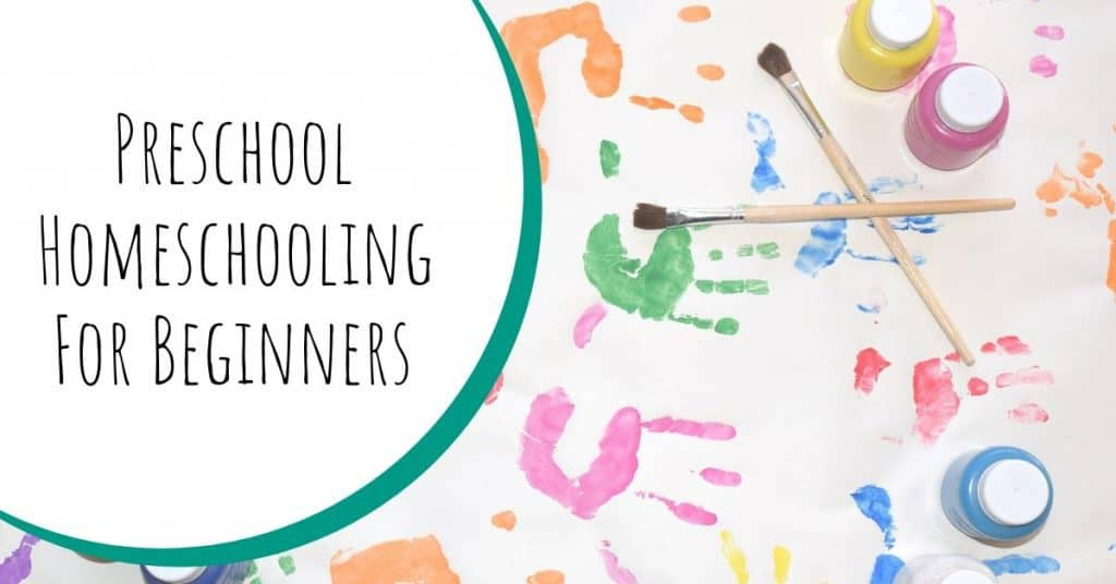 Preschool Homeschooling for Beginners