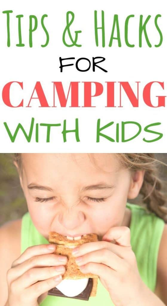 Tips and hacks for camping with kids.