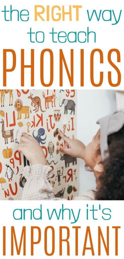 Early literacy - phonics instruction