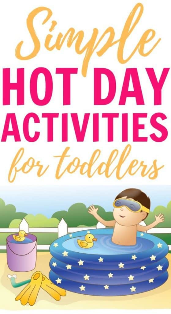 Hot Day Activities for Toddlers