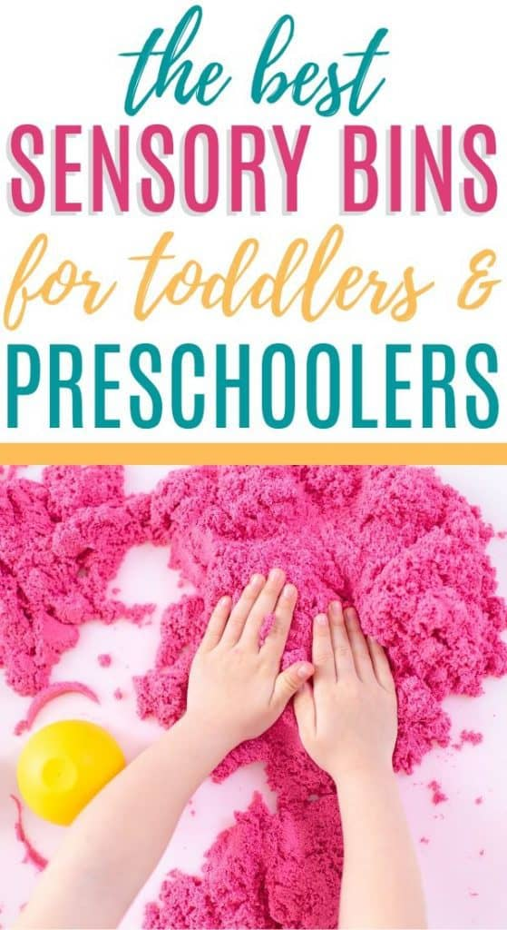 Sensory Bins for Toddlers
