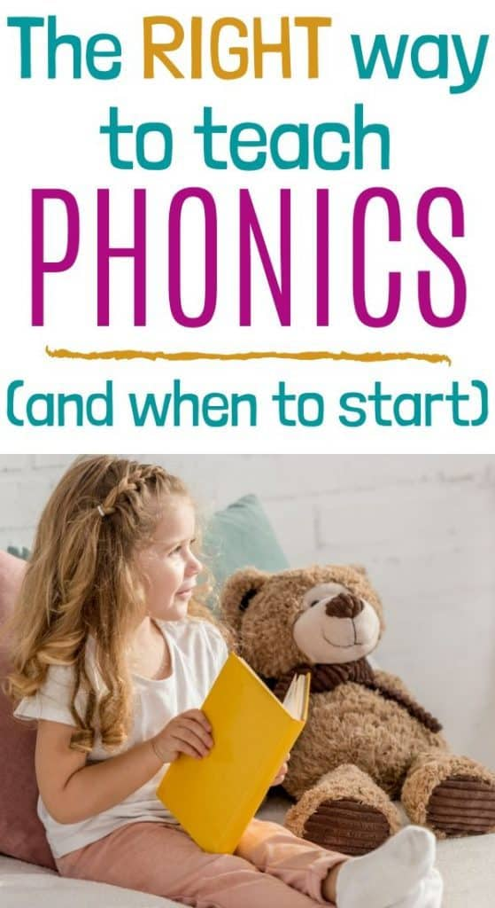 Early literacy with phonics