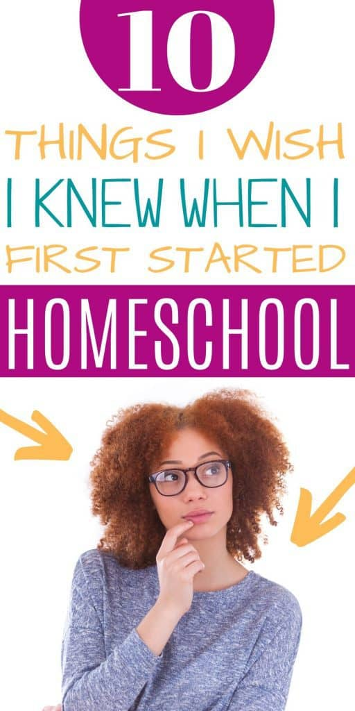 Homeschool mom thinking about homeschool mistakes