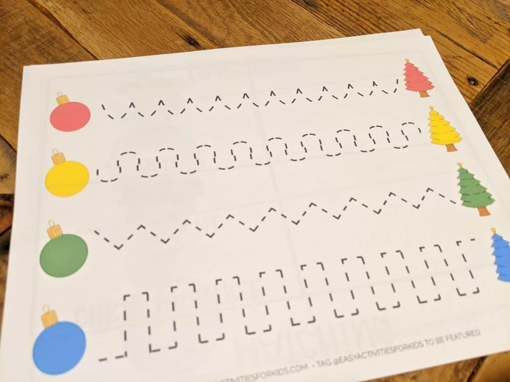 Writing Practice for 4 Year Olds