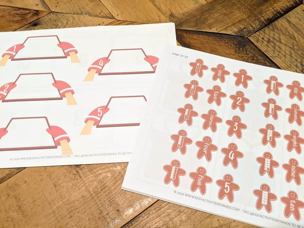Winter Counting Worksheets for Preschool